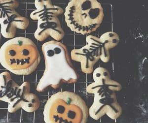 Halloween, Cookies, and pumpkin image