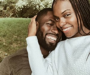 blackLove, smile, and melanin image