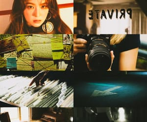 aesthetic, detective, and red velvet image