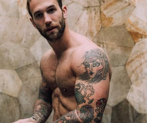 boy, Tattoos, and andre hamann image