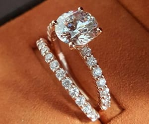 diamond, ring, and engagement image