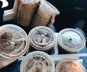 coffee, iced coffee, and friends image