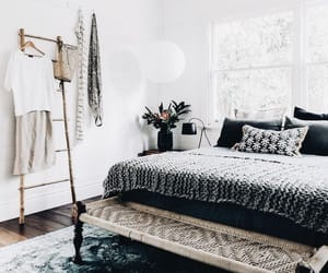 bedroom, home, and homedecor image