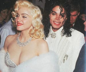 madonna, michael jackson, and 90s image