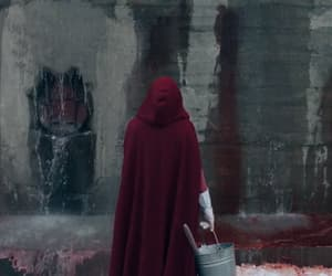 elisabeth moss, series, and the handmaids tale image