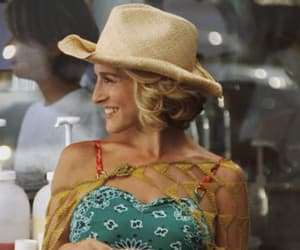 cowboy, satc, and Carrie Bradshaw image