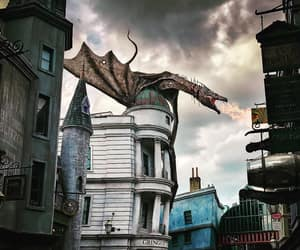 dragon, harry potter, and universal studios image