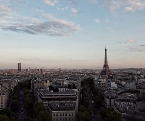 paris, travel, and buildings image