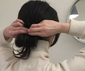 aesthetic, hair, and hairstyle image