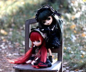 chill, doll, and dolls image