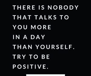 black, positivity, and quote image