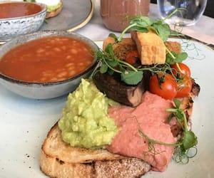 inspiration, toast avocado, and yummy healthy image