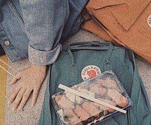 blue, orange, and sushi image