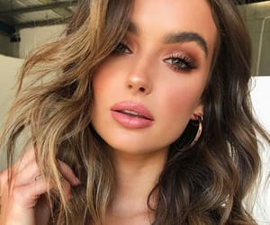 eyebrows, hair, and makeup image
