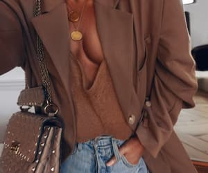 fashion, street style, and Valentino image