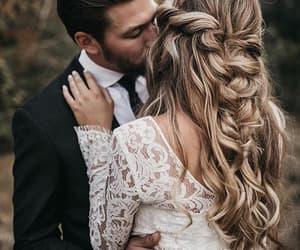 boy, girl, and wedding image