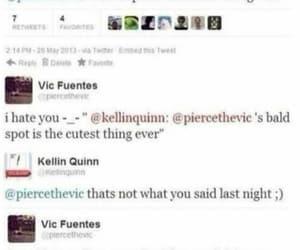 pierce the veil, ship, and tweet image