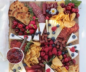 berries, brie, and cozy image