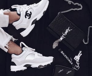 chanel, Balenciaga, and sneakers image