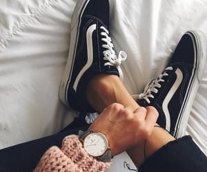 vans, fashion, and watch image