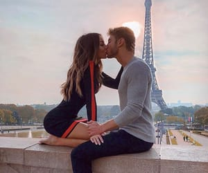 goals, couple, and eiffel tower image