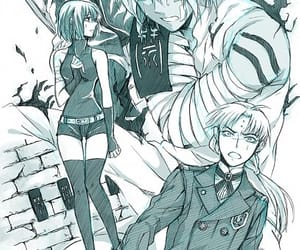 allen, d.gray-man, and howard image