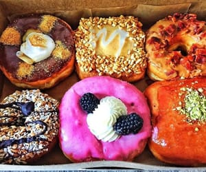 bakery, delicious, and doughnut image
