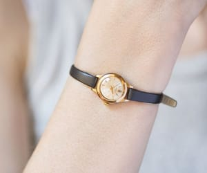 etsy, women watch gold, and wrist watch lady image