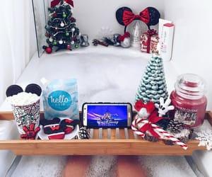bath, bathtub, and christmas image