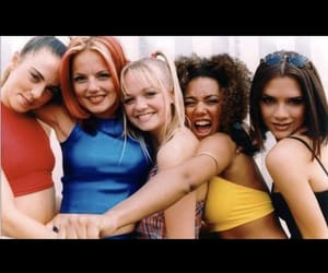 2000, '90s, and spice girls image