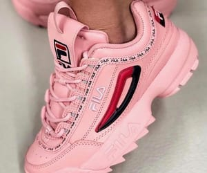 Fila and pink image