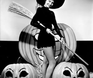 Halloween, vintage, and witch image