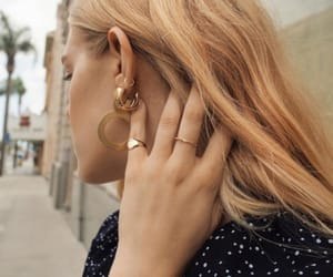 earrings, inspo, and jewels image