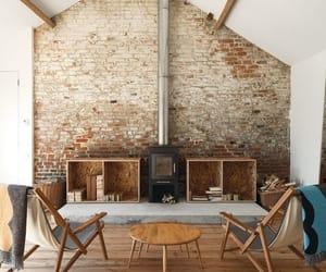 Pinned Image #interior #brick #white
