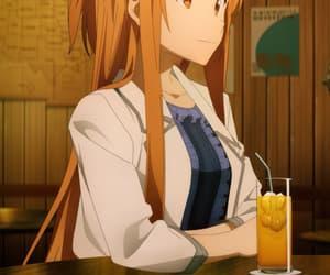 anime girl, braid, and asuna image