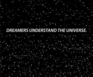 dreamer, stars, and wallpaper image