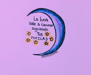 frases, moon, and luna image