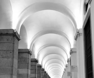 arches, art, and b&w image