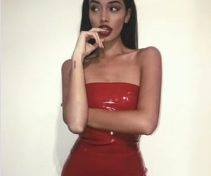 cindy kimberly, red, and beauty image