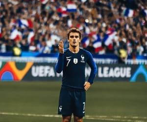 fitness, football, and france image