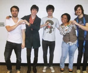 brendon urie, ryan ross, and jon walker image