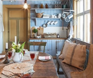 cabin, small spaces, and country living image