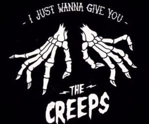 creepy, Halloween, and creeps image