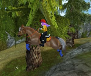 video games, sso, and horse game image