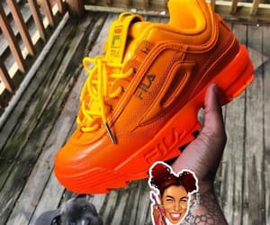 Fila, orange, and style image