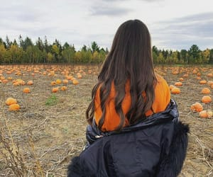 autumn, beautiful, and girl image