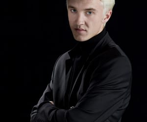 harrypotter, slytherin, and dracomalfoy image