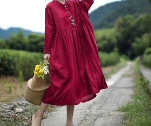 etsy, long dress, and wedding image
