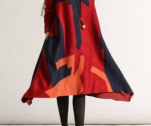 etsy, winter dress, and maternity dress image