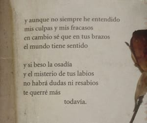 amor, frases, and poema image
